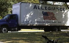charleston movers truck