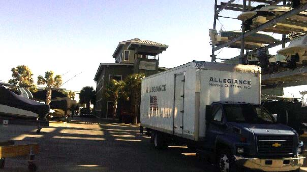 Allegiance Moving performing Residential Move in Charleston