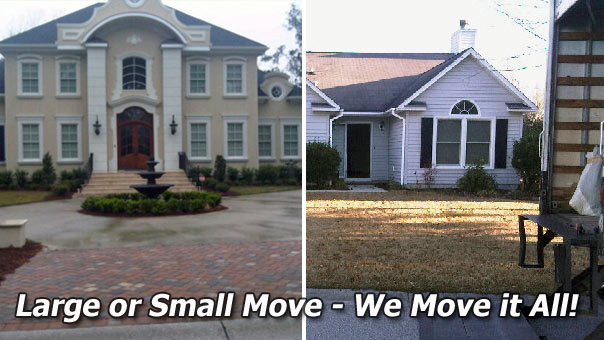 We move Large and Small Homes